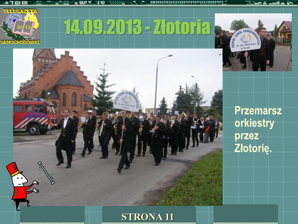 14.09.2013 - Złotoria Przemarsz orkiestry przez Złotorię. STRONA 11