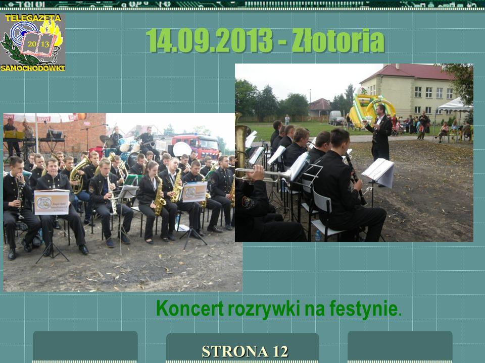 14.09.2013 - Złotoria Koncert rozrywki na festynie. STRONA 12