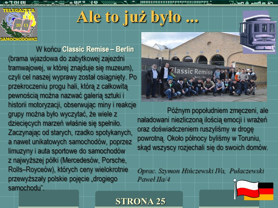 Oprac. Szymon Hińczewski IVa, Pułaczewski Paweł IIa/4