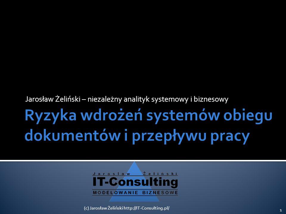 Ryzyka wdrożeń systemów obiegu dokumentów i przepływu pracy