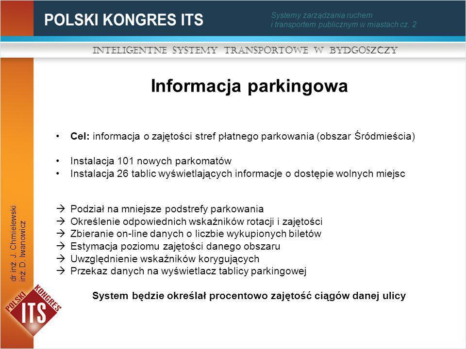 Informacja parkingowa