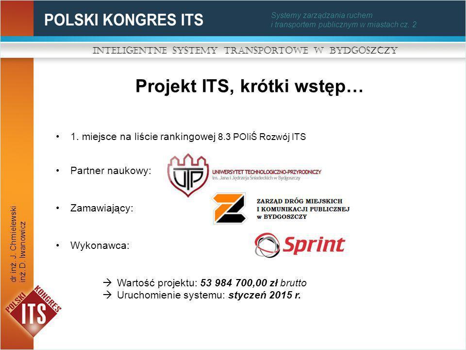 Projekt ITS, krótki wstęp…
