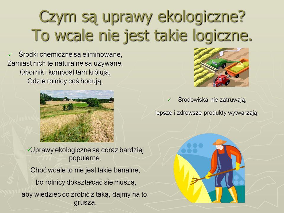 Czym są uprawy ekologiczne To wcale nie jest takie logiczne.