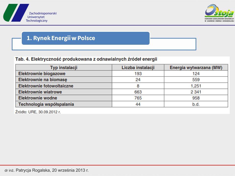 1. Rynek Energii w Polsce