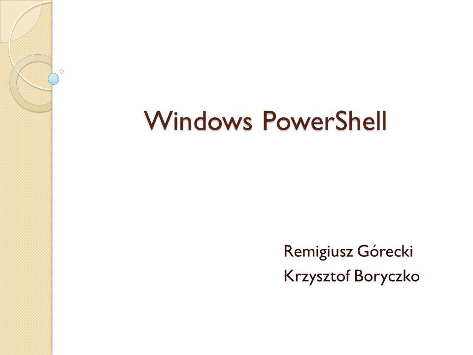 Remigiusz Górecki Krzysztof Boryczko