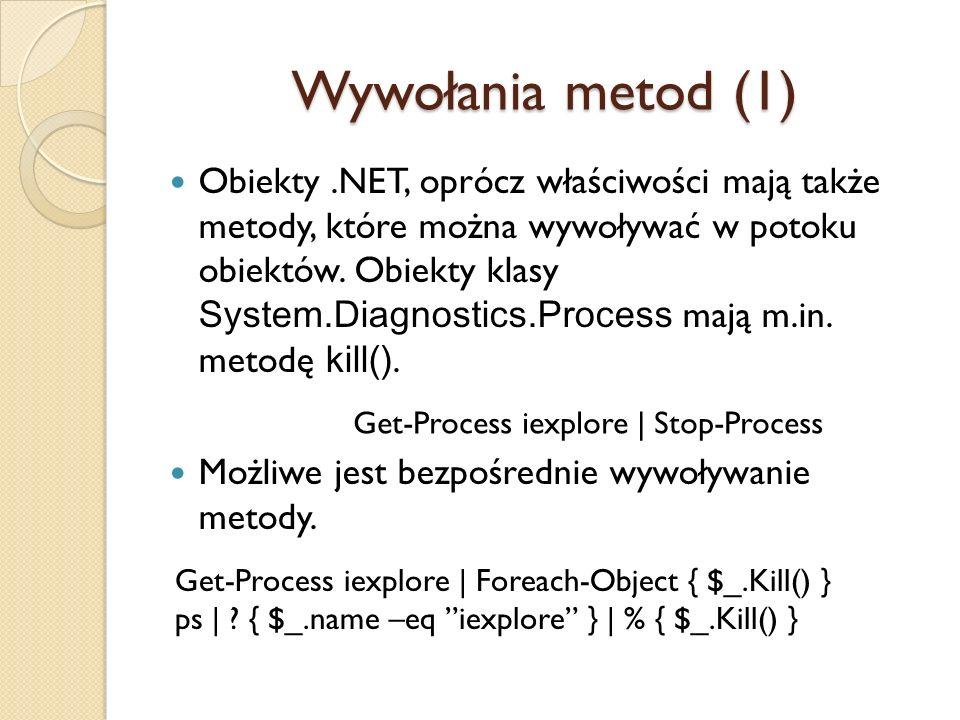 Wywołania metod (1)