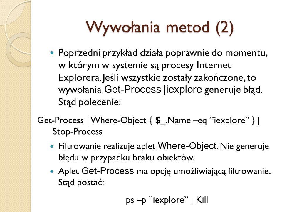 Wywołania metod (2)