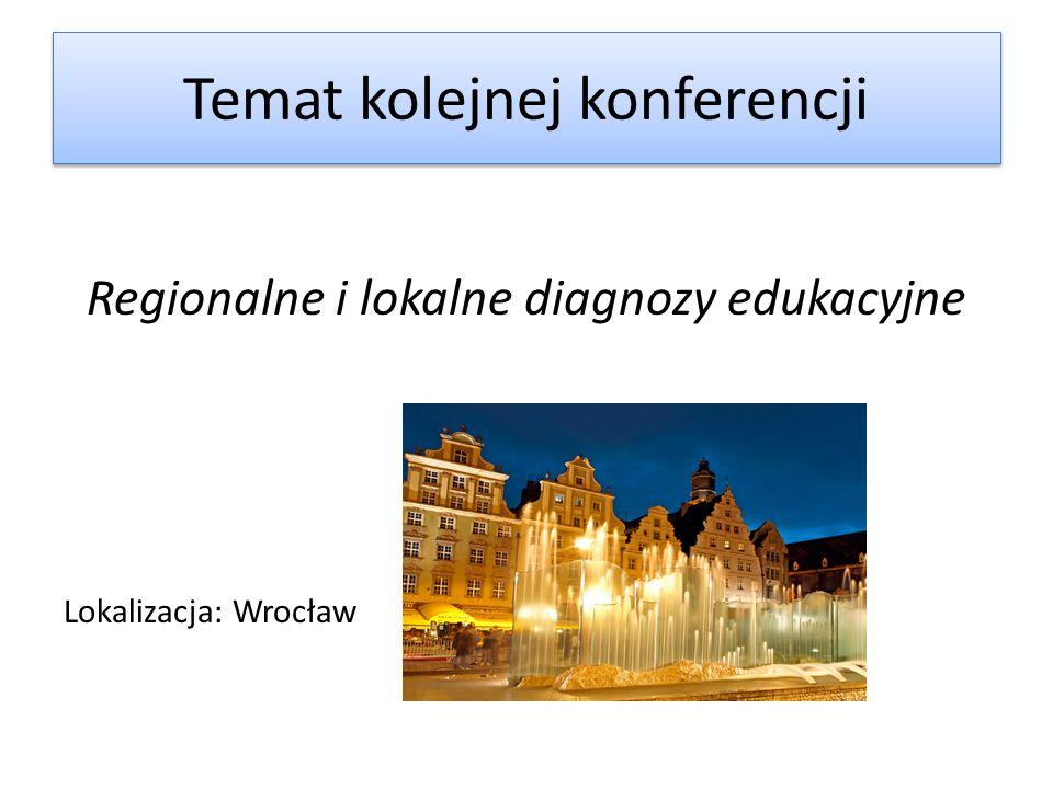 Temat kolejnej konferencji
