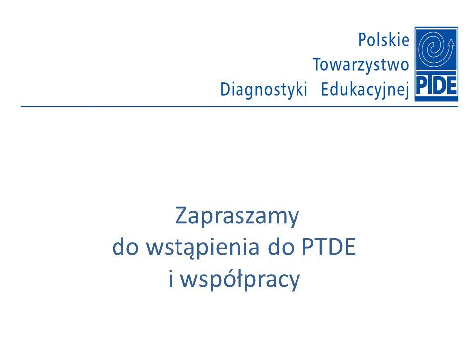 Zapraszamy do wstąpienia do PTDE i współpracy