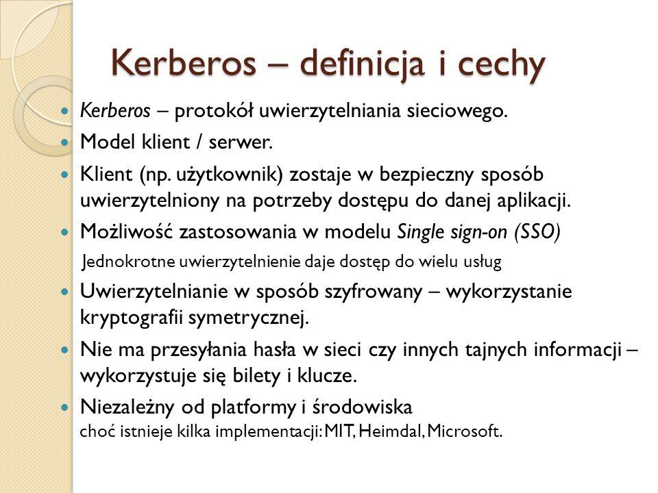 Kerberos – definicja i cechy
