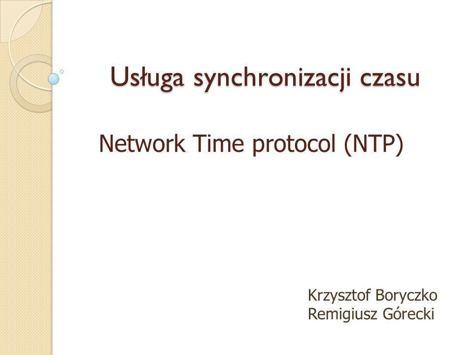 Usługa synchronizacji czasu