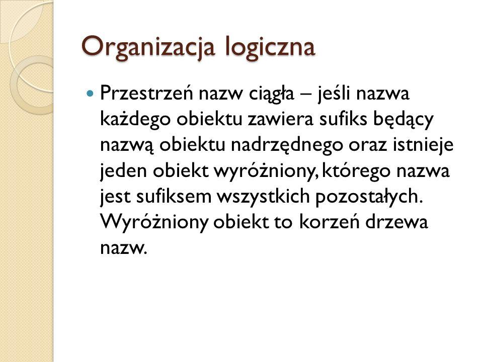 Organizacja logiczna