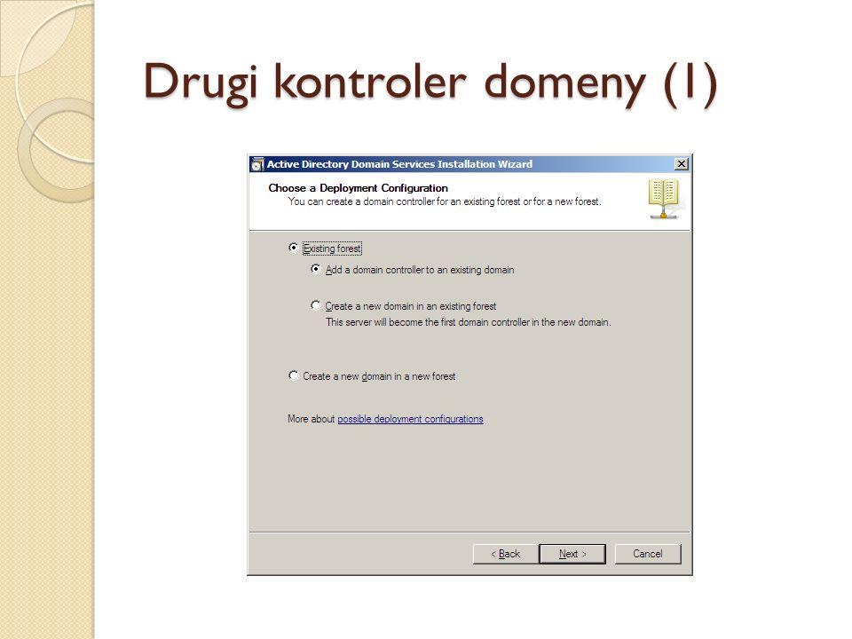 Drugi kontroler domeny (1)