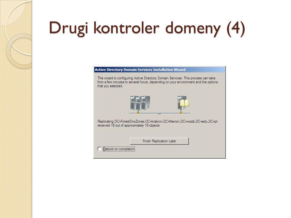 Drugi kontroler domeny (4)