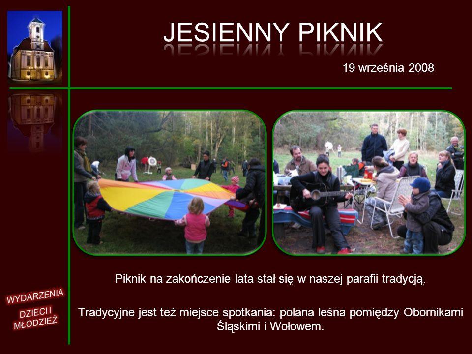 Piknik na zakończenie lata stał się w naszej parafii tradycją.