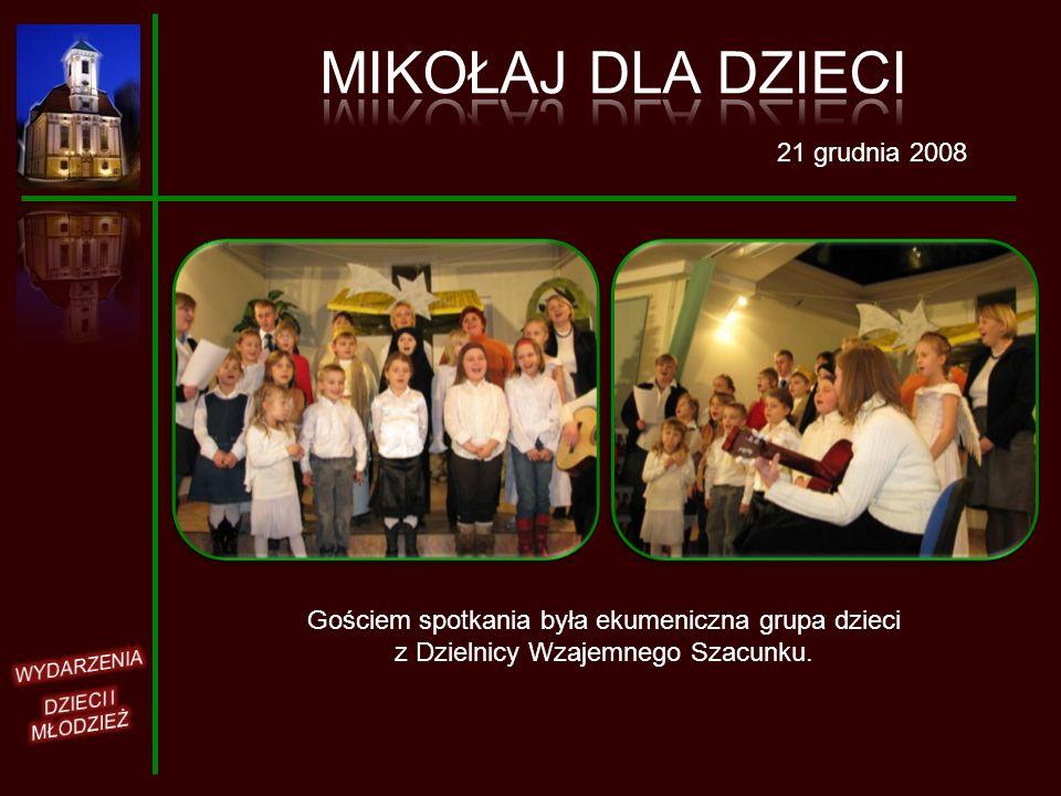 MIKOŁAJ DLA DZIECI 21 grudnia 2008