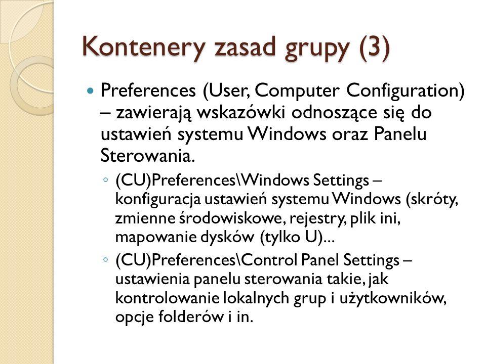 Kontenery zasad grupy (3)