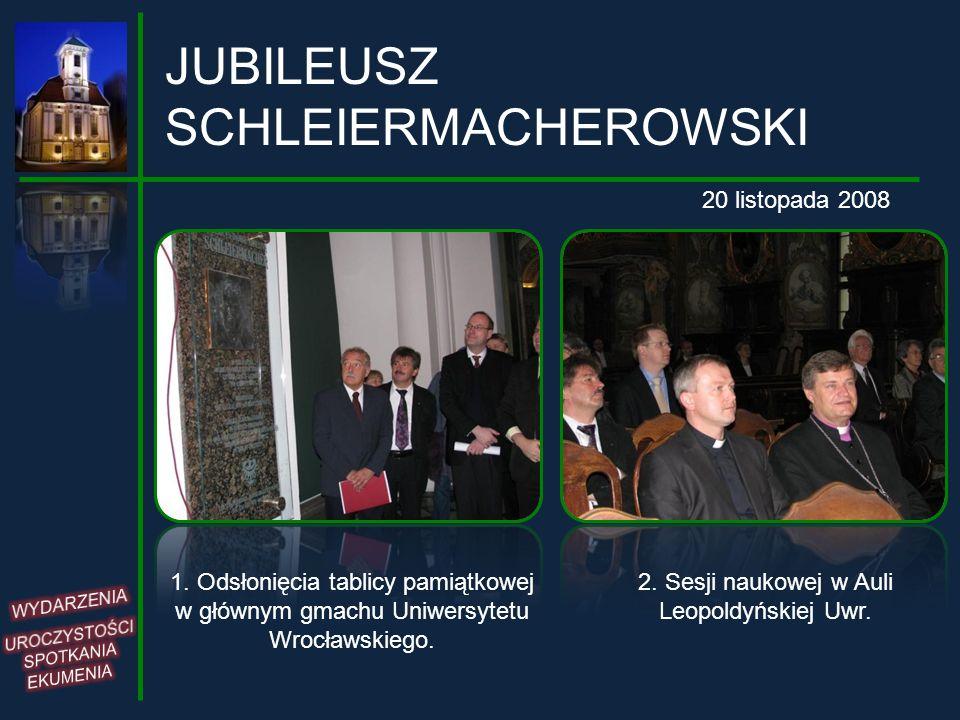 JUBILEUSZ SCHLEIERMACHEROWSKI