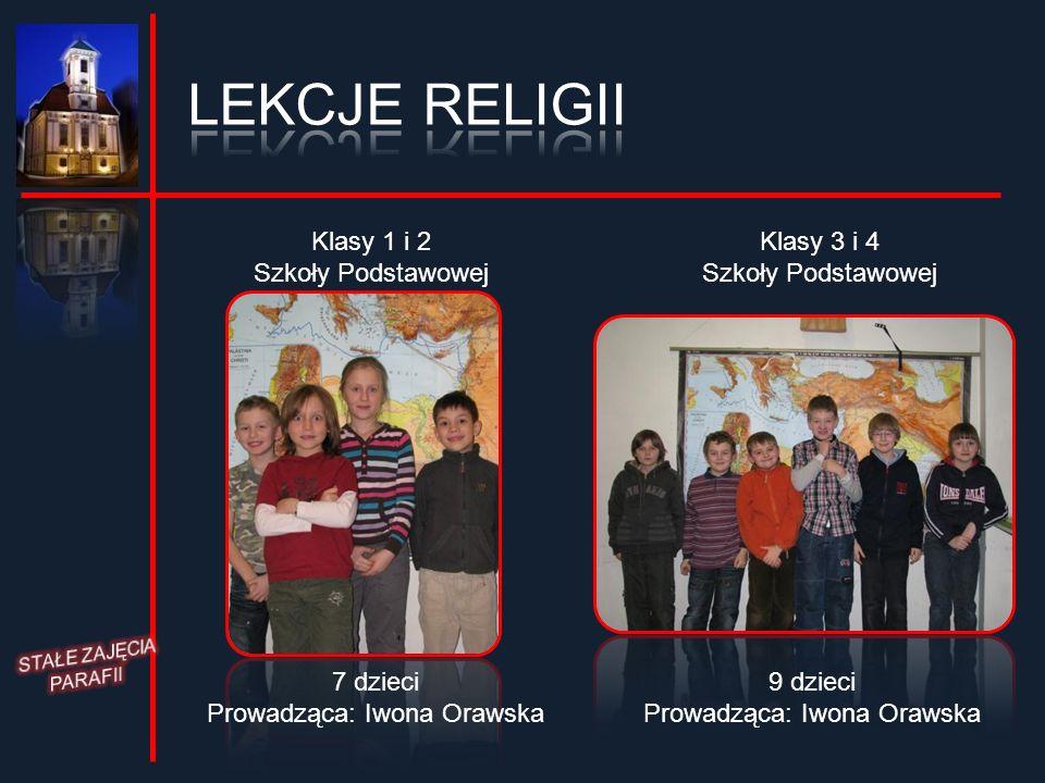 LEKCJE RELIGII Klasy 1 i 2 Szkoły Podstawowej Klasy 3 i 4