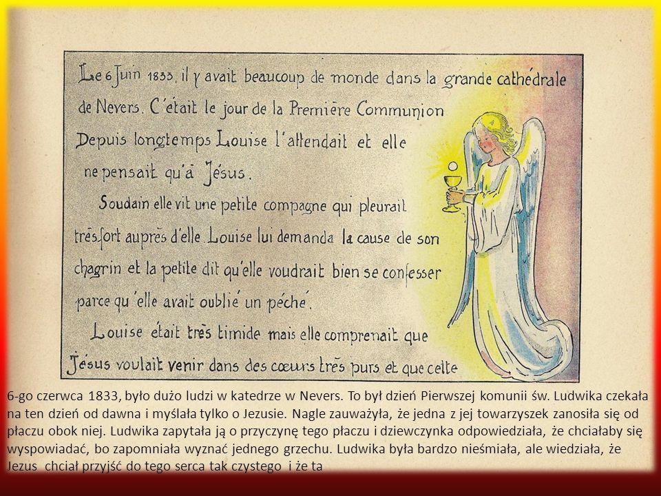 6-go czerwca 1833, było dużo ludzi w katedrze w Nevers