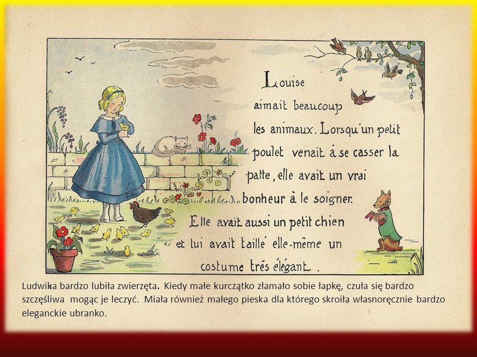 Ludwika bardzo lubiła zwierzęta
