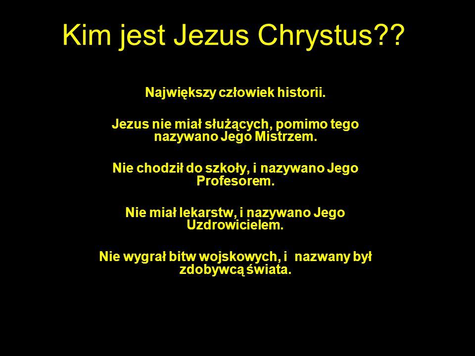 Kim jest Jezus Chrystus