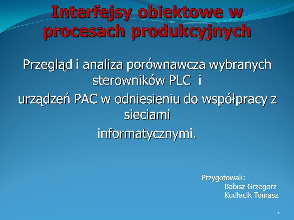 Interfejsy obiektowe w procesach produkcyjnych