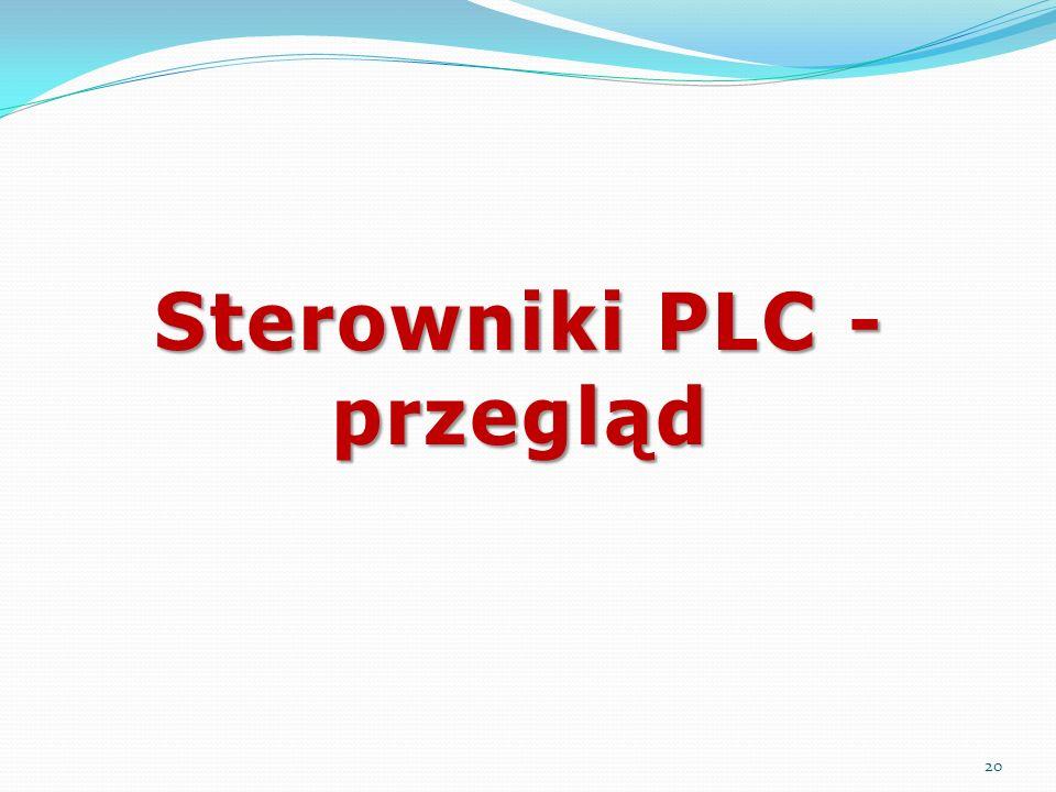 Sterowniki PLC - przegląd