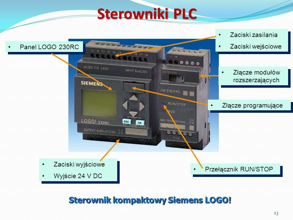 Sterownik kompaktowy Siemens LOGO!