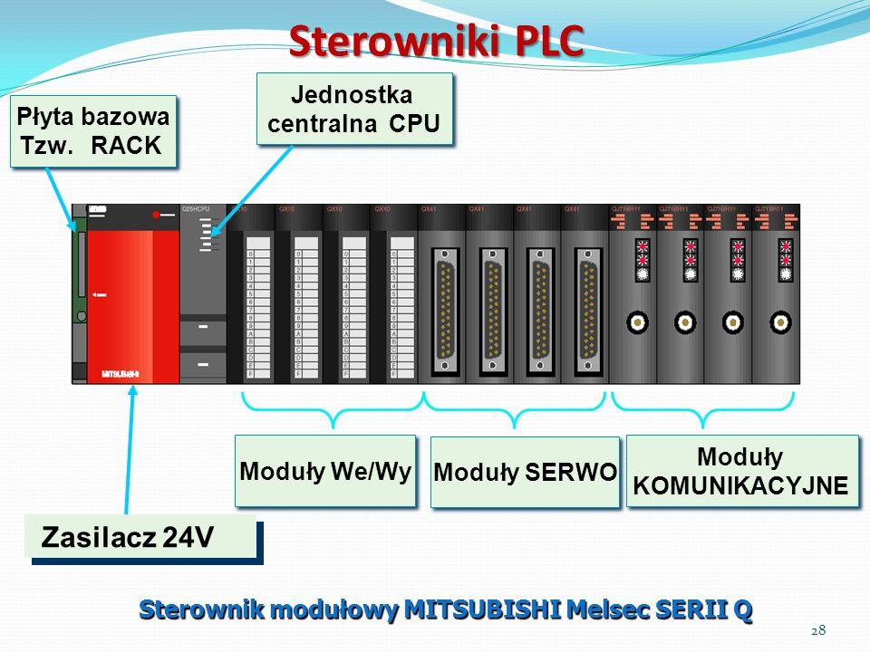 Sterownik modułowy MITSUBISHI Melsec SERII Q