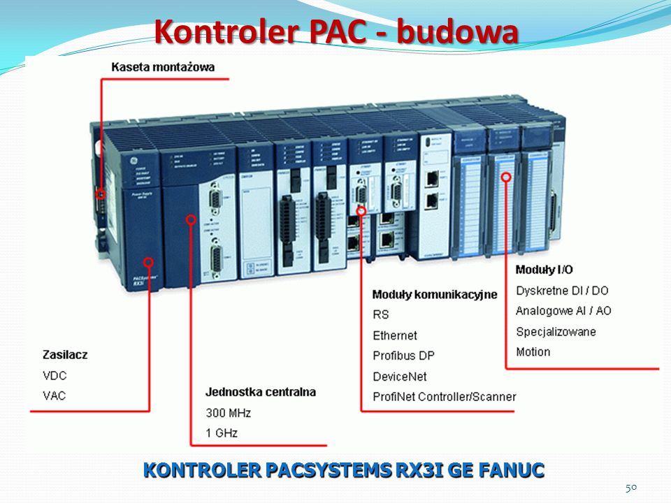 KONTROLER PACSYSTEMS RX3I GE FANUC