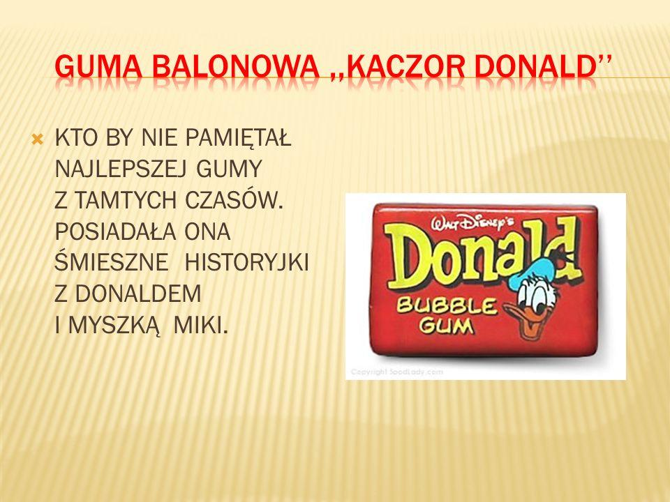 GUMA BALONOWA ,,KACZOR DONALD''