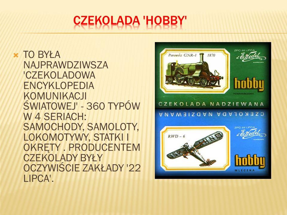 CZEKOLADA HOBBY