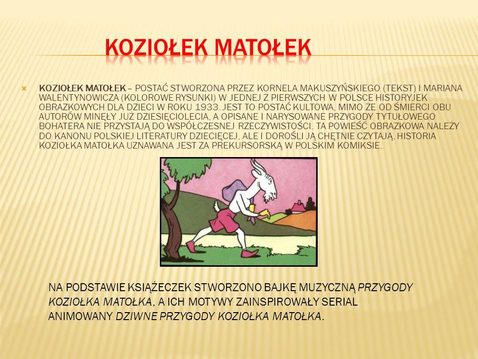 KOZIOŁEK MATOŁEK