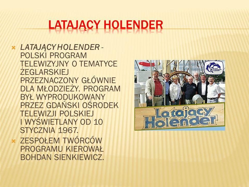 LATAJĄCY HOLENDER