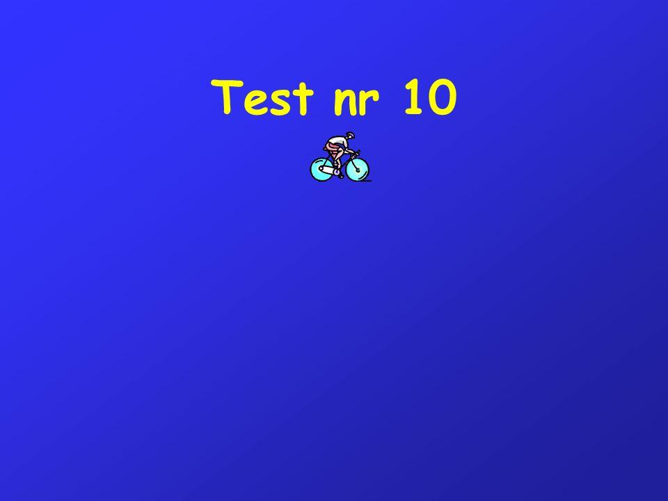 Test nr 10