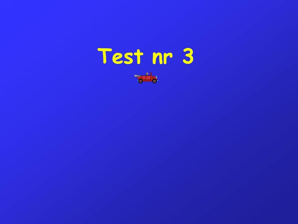 Test nr 3