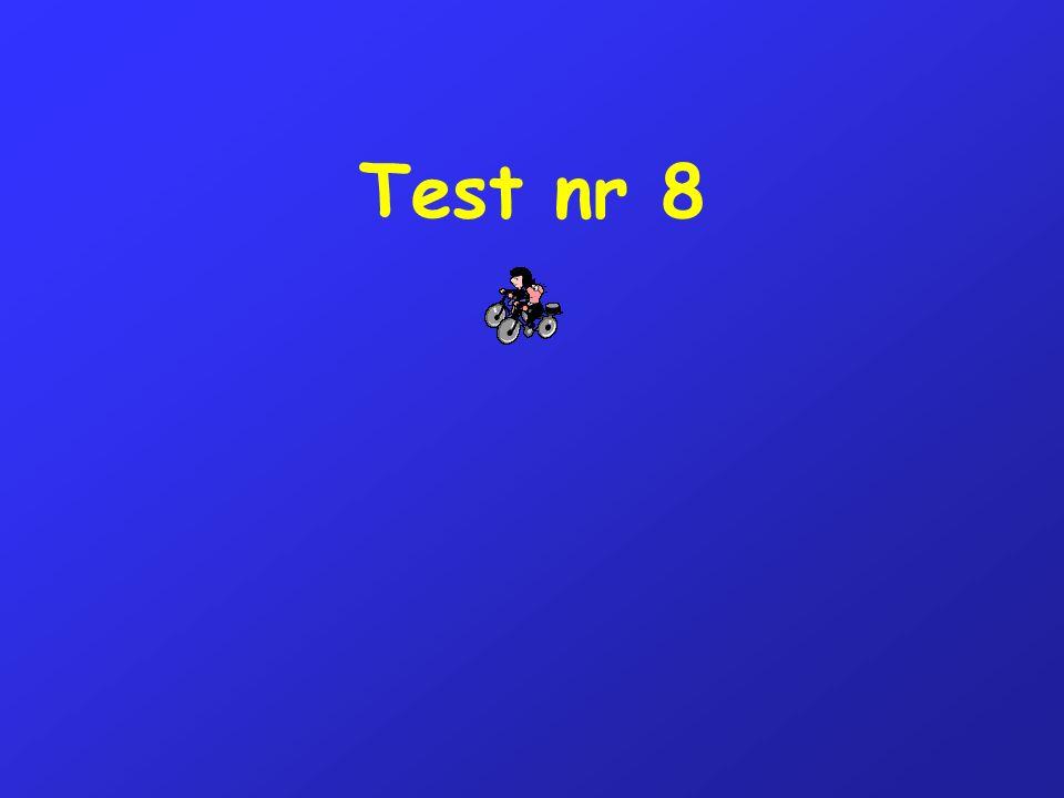 Test nr 8
