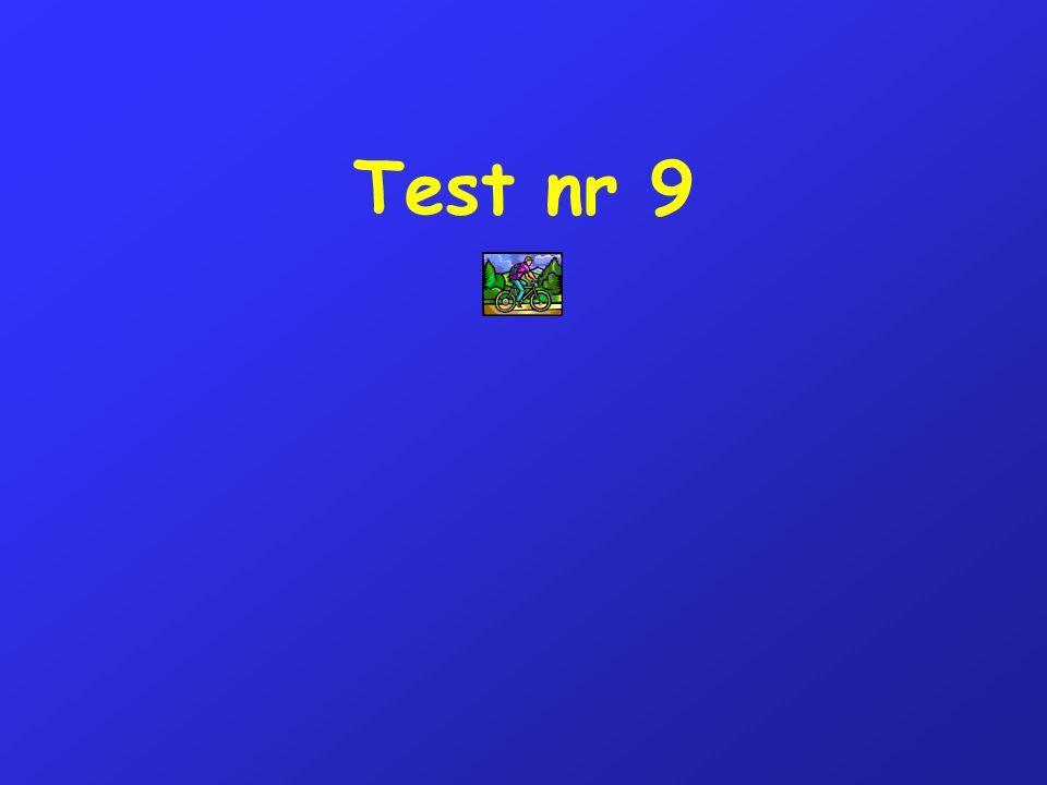 Test nr 9