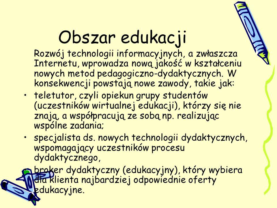 Obszar edukacji