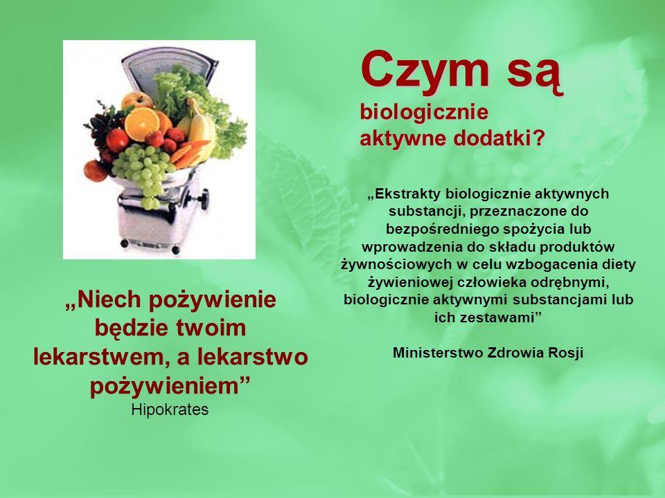 Czym są biologicznie. aktywne dodatki