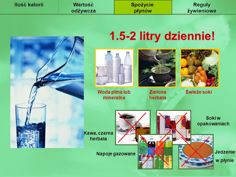 Woda pitna lub mineralna