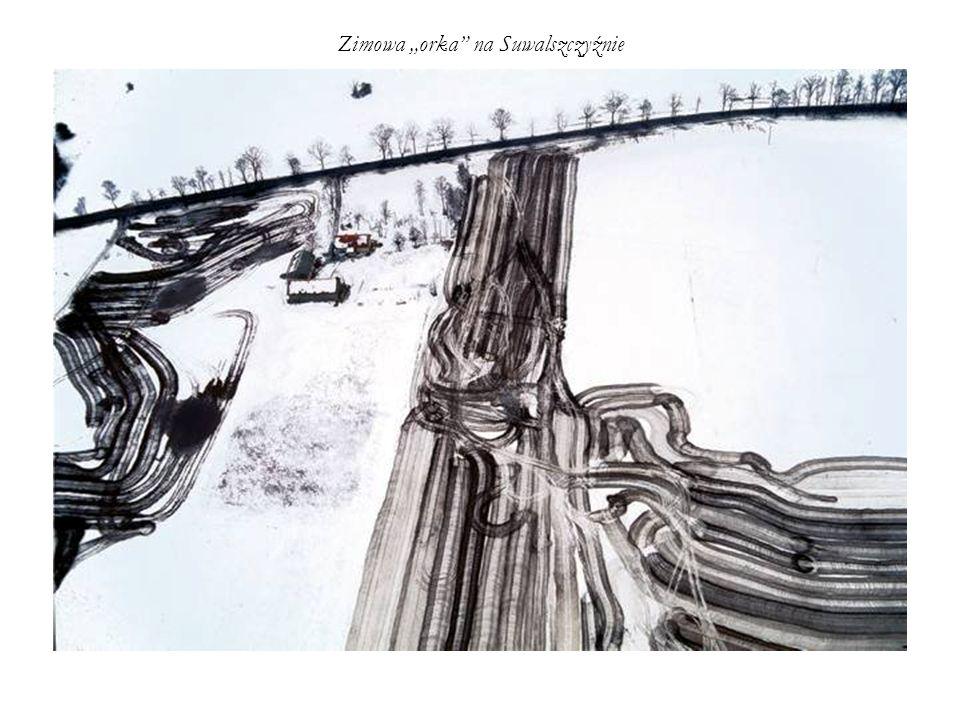 """Zimowa """"orka na Suwalszczyźnie"""