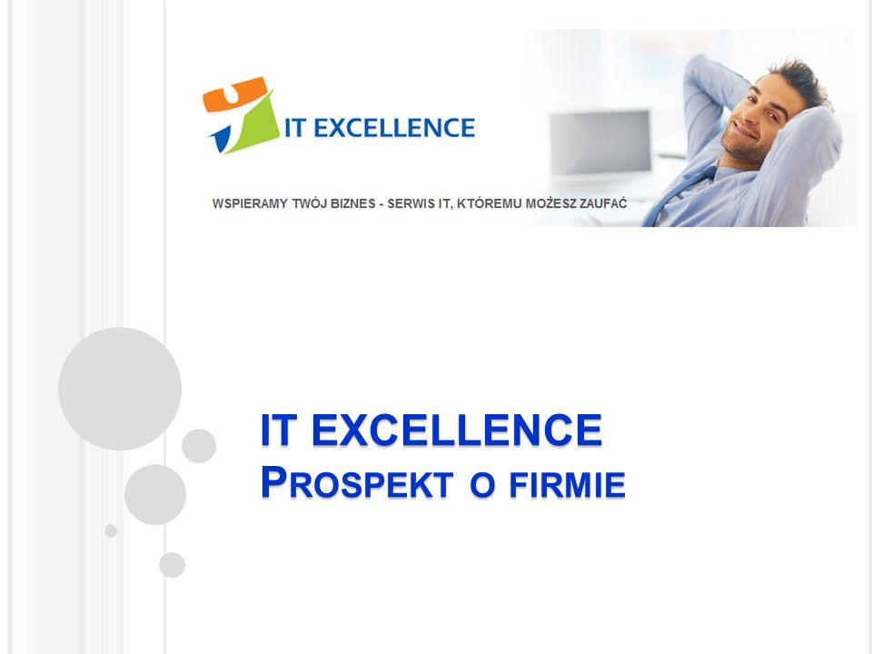 IT EXCELLENCE Prospekt o firmie