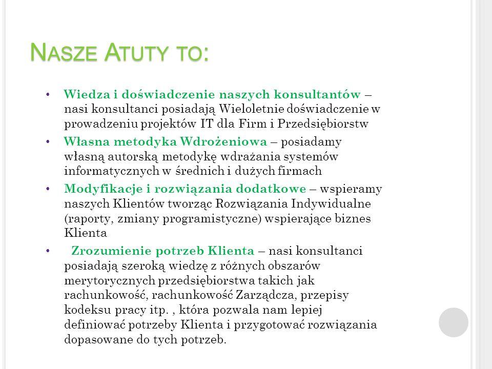 Nasze Atuty to:
