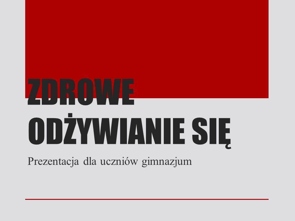 Prezentacja dla uczniów gimnazjum