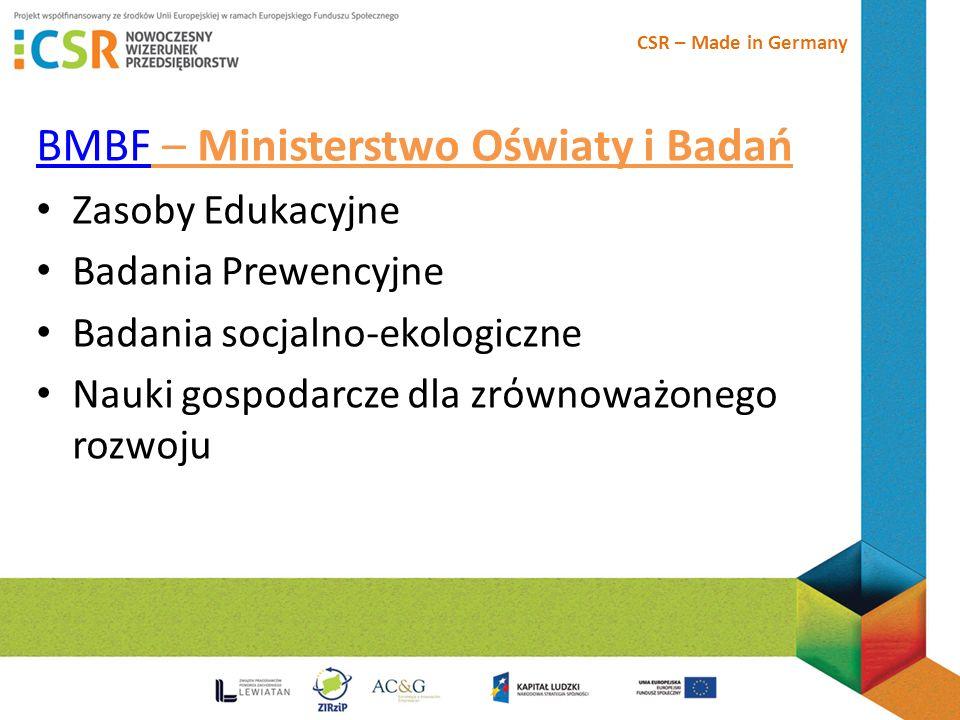 BMBF – Ministerstwo Oświaty i Badań