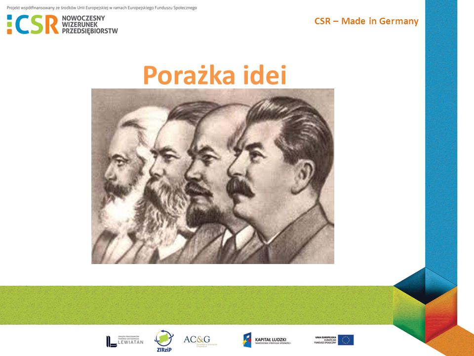 CSR – Made in Germany Porażka idei