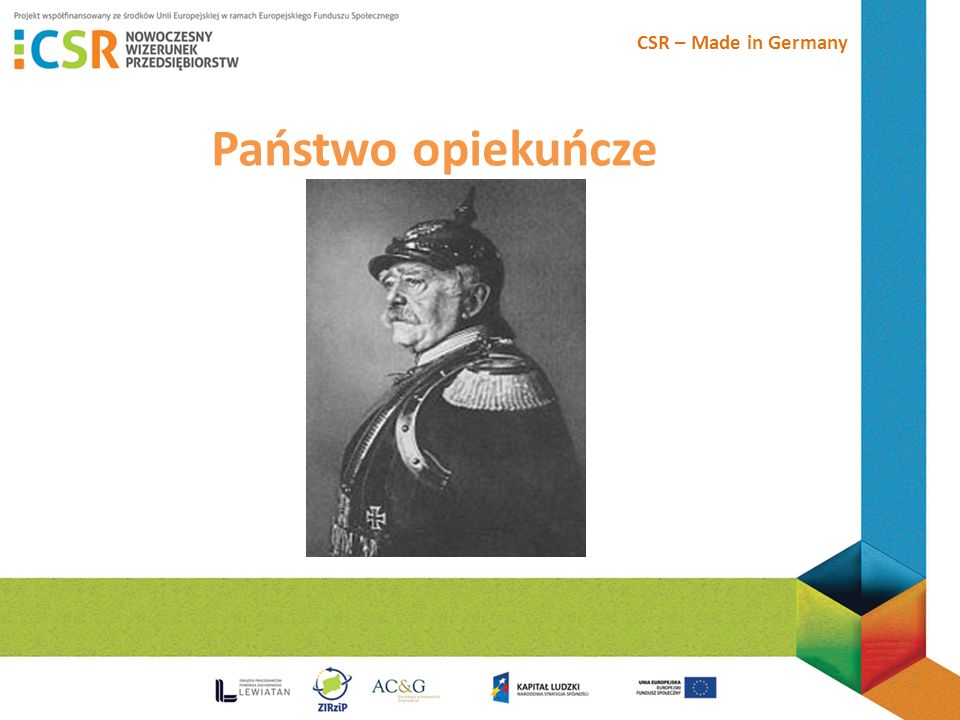 CSR – Made in Germany Państwo opiekuńcze