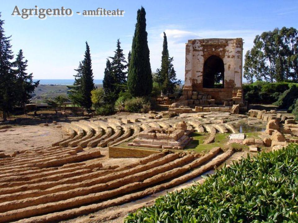 Agrigento - amfiteatr